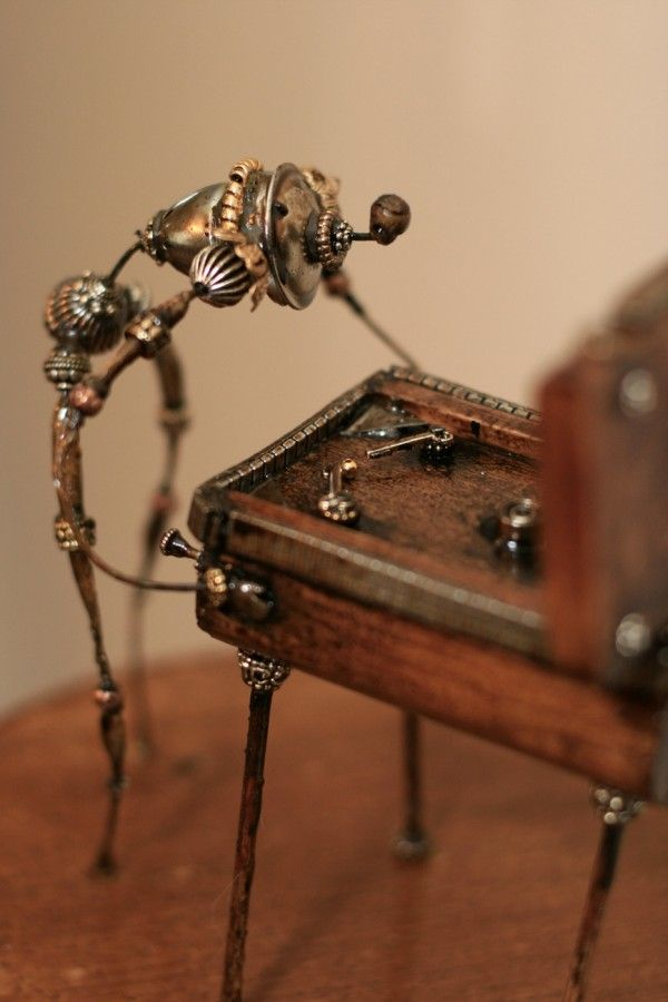 Curious Assemblages of J. Shea