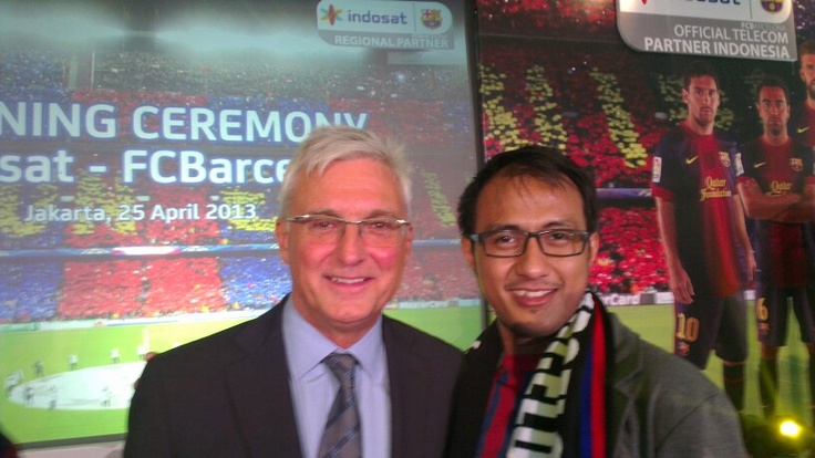 Antoni Rossich CEO of FC Barcelona #IndosatBarca