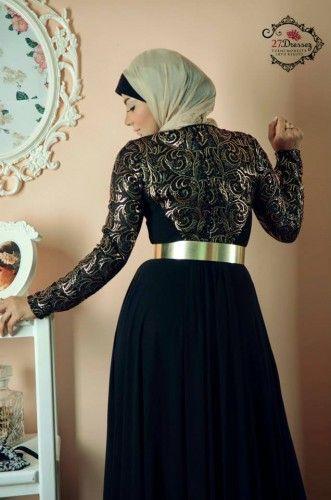 evening hijab dress 4
