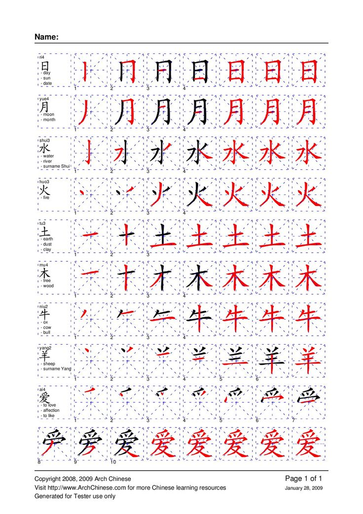 chinese writing grid Hanzi grids, created by imron, an admin on chinese-forumscom, does   simplified and traditional chinese characters (as seen in the above.