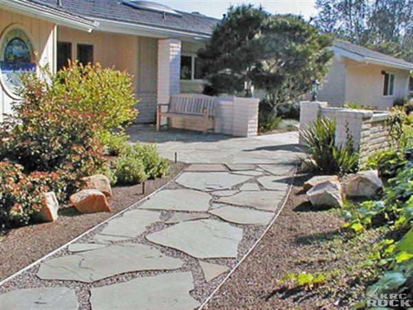 flagstone stepping stone  Google Search  Garden