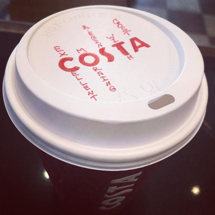 """Morning everyone ☀️ #CostaCoffee #costacoffeeworld #goodmorning"""