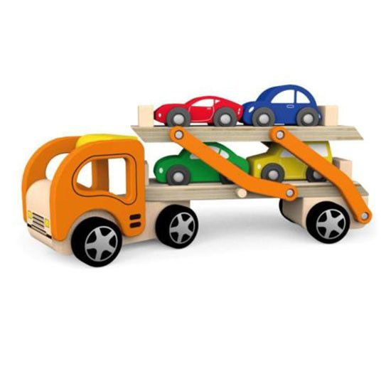 The Corner Booth - Wooden Car Carrier
