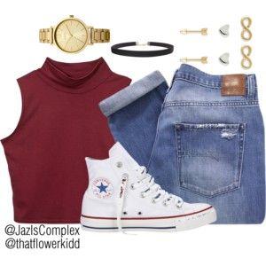Styling White Converse #3