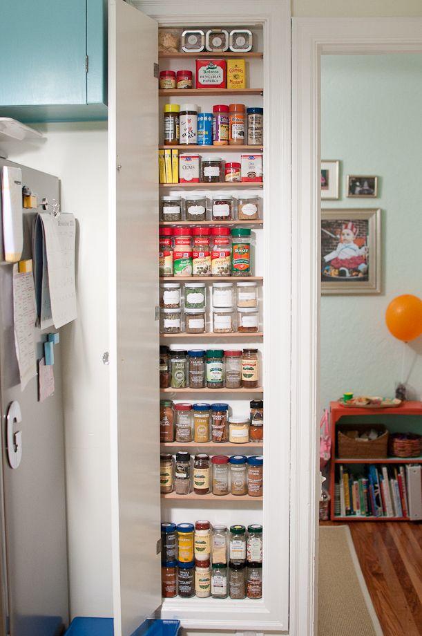 Spice Cabinet Spice Storage Pinterest Spices