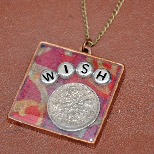 resin pendant tutorial cool could do a penny with lucky                                                                                                                                                                                 More