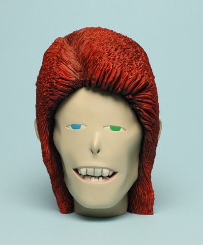 Wilfrid Wood - Heads - David Bowie