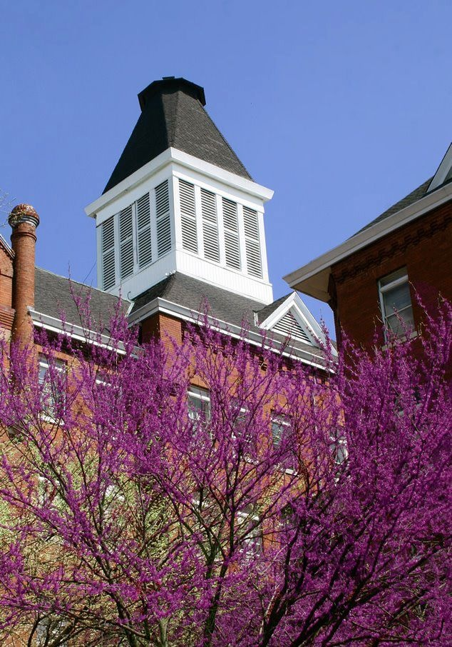 Virginia Intermont College - The bell tower at my Alma Mater.