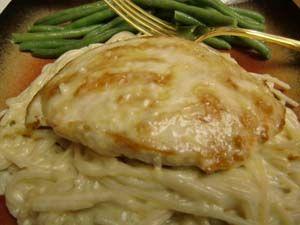 Gluten Free Pasta Recipe: Chicken Alfredo