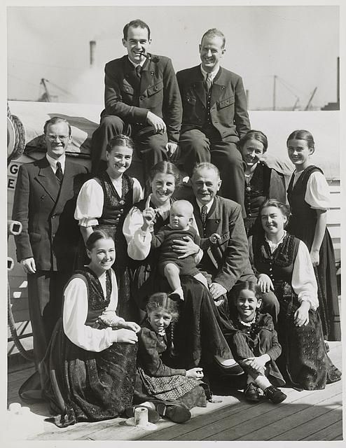 "The Trapp family singers that inspired the musical and movie, ""The Sound of Music."""