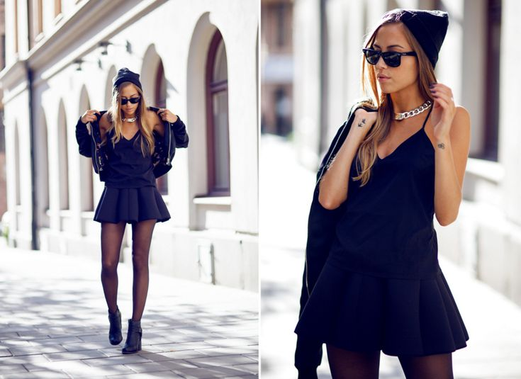 outfit tavares black collage-2