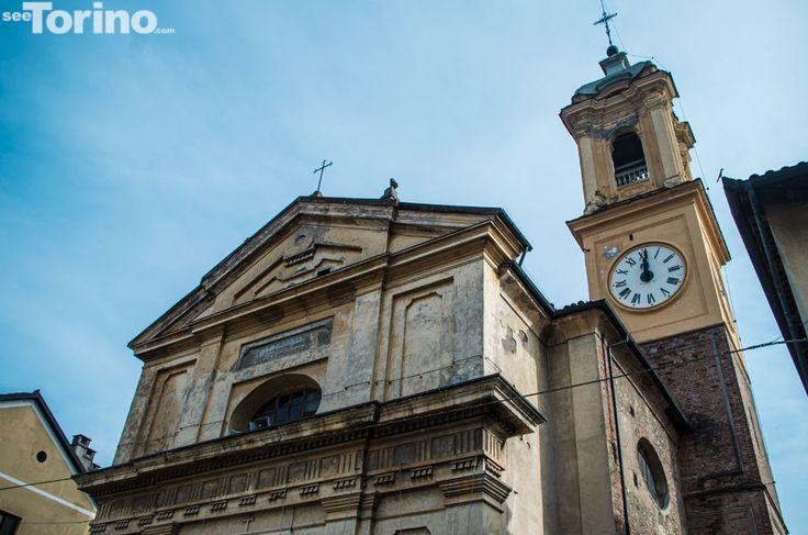 torre campanaria comunale della Chiesa della Confraternita dei disciplinati di Santa Croce a Collegno  http://www.seetorino.com/?galleries=ora-esatta