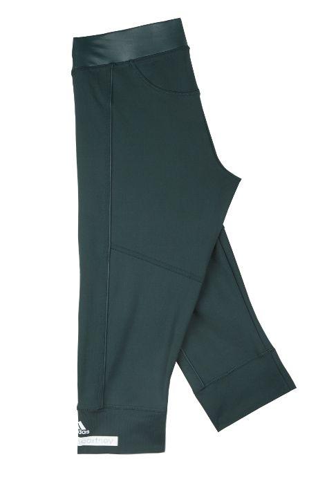 Adidas by Stella McCartney   The 3/4 Tight - Deep Green   MYCHAMELEON.COM.AU