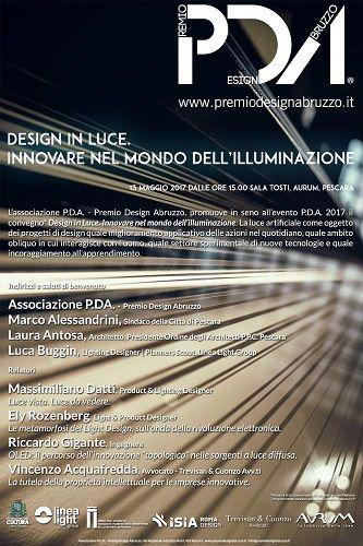 A Pescara terza edizione Biennale del Design Premio sulla qualità dei progetti di Design