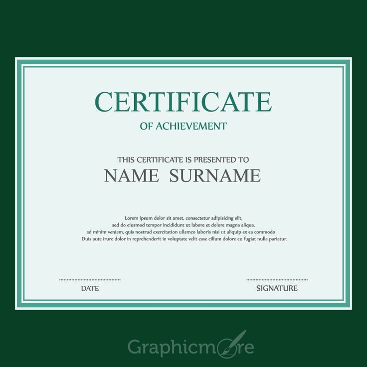The 25+ best Certificate design template ideas on Pinterest - creative certificate designs