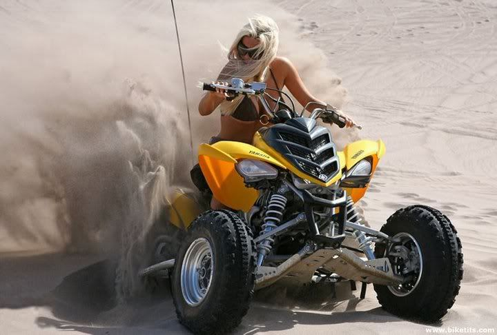 Moto riding is fun with this hot girl - 5 9
