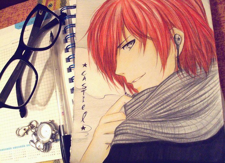 Castiel the jerk. by sakura-streetfighter.deviantart.com on @DeviantArt