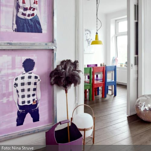 59 best Farbgestaltung images on Pinterest Child room, Design - farbiges modernes appartement hong kong