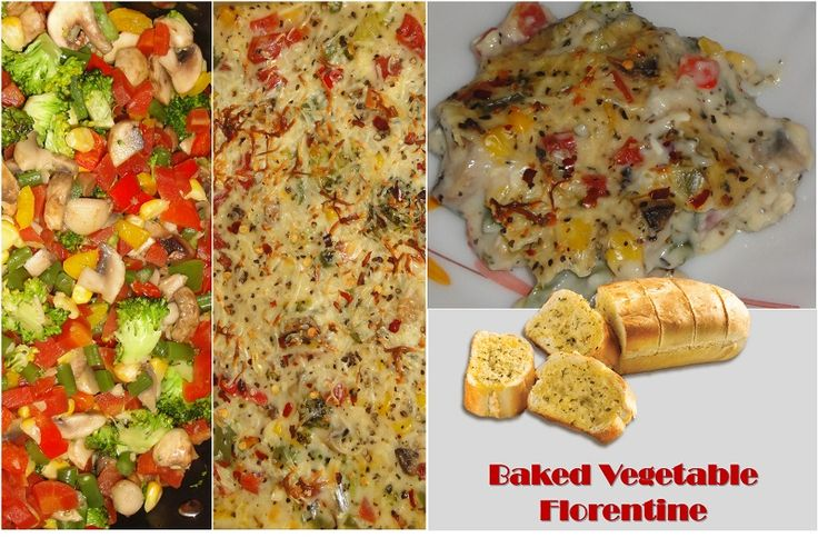Baked Vegetable Florentine
