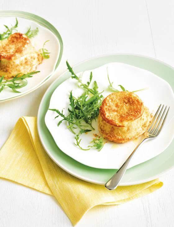 Roquefort cheese soufflés - Sainsbury's Magazine