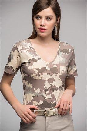 Size Özel Saygı Kadın Boz Kahverengi-bej Kamuflaj Desen T-shirt || Kadın Boz Kahverengi-Bej Kamuflaj Desen T-Shirt Size Özel Saygı Kadın                        http://www.1001stil.com/urun/4329030/size-ozel-saygi-kadin-boz-kahverengi-bej-kamuflaj-desen-t-shirt.html?utm_campaign=Trendyol&utm_source=pinterest