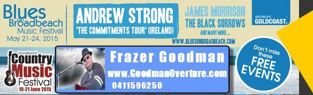 Broadbeach Blues Festival 2015 I am performing