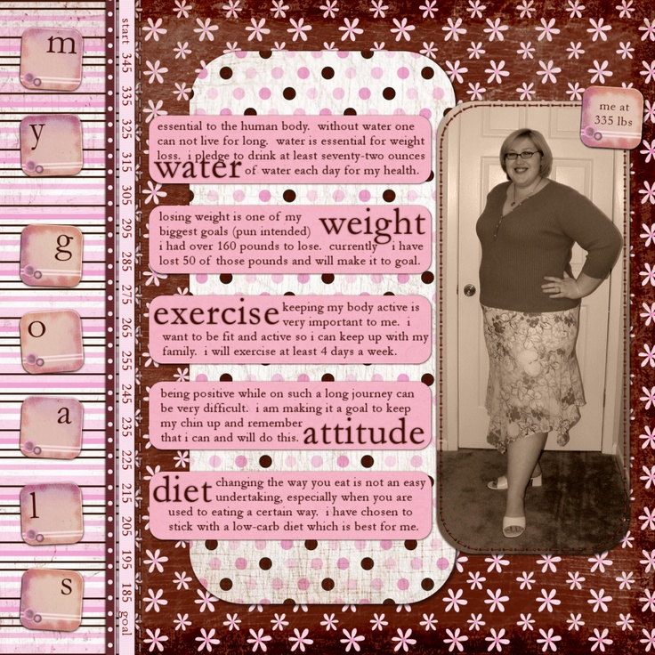 40 best Scrap - Weight Loss images on Pinterest