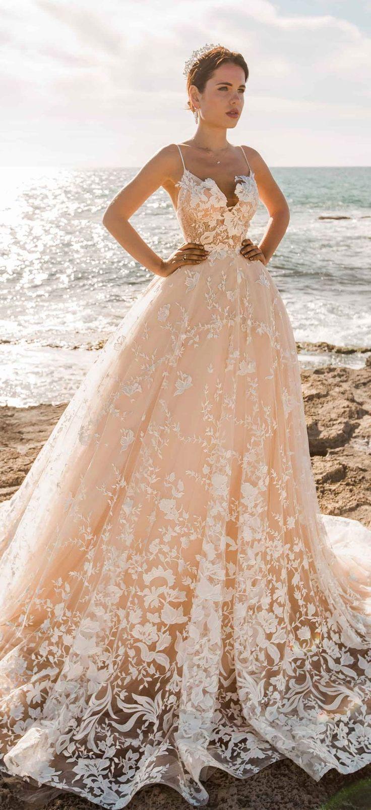 32 Beach Wedding Dresses Perfect For A Destination Wedding – Fab Wedding Dress…