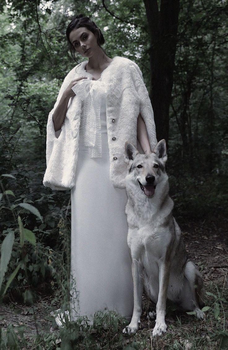 Robe de mariée vintage CHARLOTTE