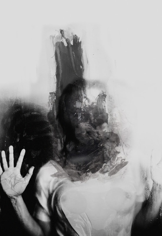 painting and mixed media by januz miralles