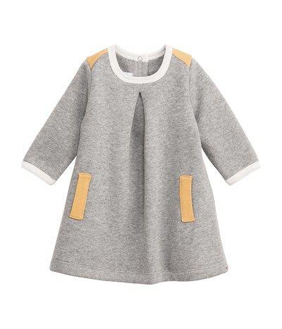 petite bateau | grey | jersey dress