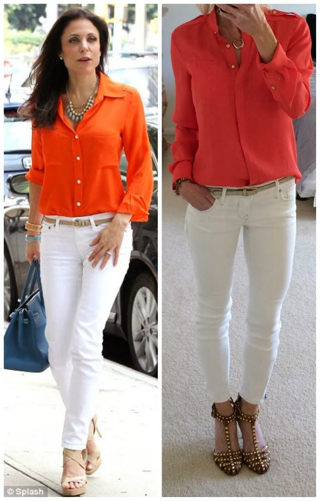 I'm in need of a white skinny jean.  Express ankle zip jean legging, bethenny frankel outfit copycat, duplicate