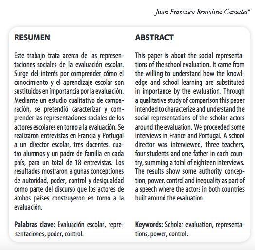 Grupo de Estudio GRESSIA: La Evaluación en el contexto Escolar de Francia y ...