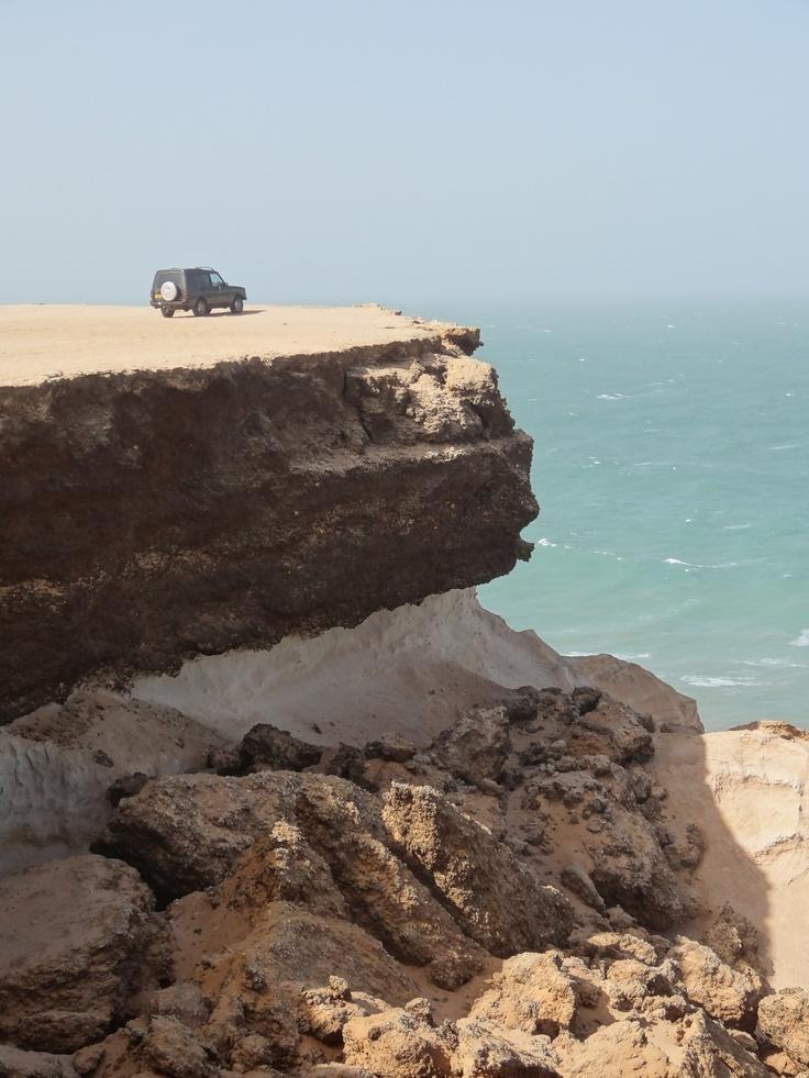 Western Sahara - laughing at danger!