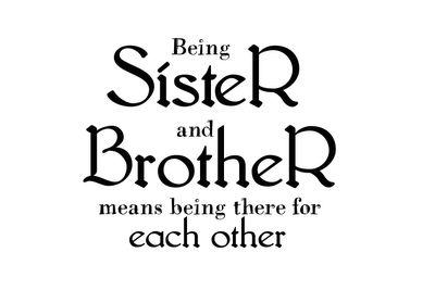 Inspired Mommie Designs: Being Sister and Brother- Wordart Freebie