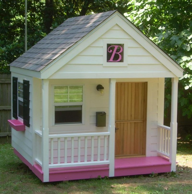 17 best images about playhouses on pinterest design for Wooden playhouse with garage