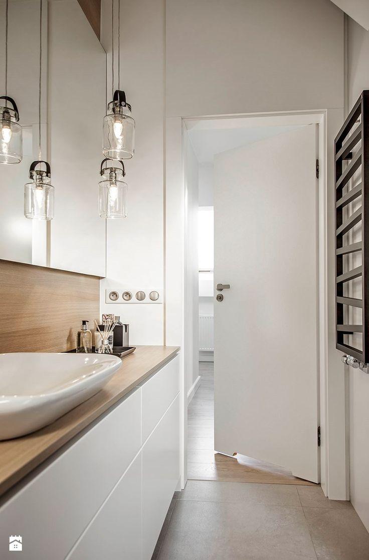 Mieszkanie w Wolsztynie - Łazienka, styl nowoczesny - zdjęcie od Żaneta Strażyńska