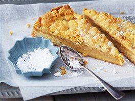 Rychlý jablečný koláč s drobenkou