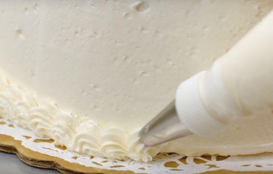 Seis formas de decorar un pastel con la misma boquilla. Vídeo