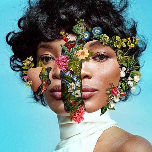 Juxtapoz Magazine - The Digital Glamour of Marcelo Monreal. Thing I'm attracted to most in this work is that even though it's a high fashion ad it's not a typical fashion shoot. It's more fun and playful. I'm attracted to florals so that's another thing that drew me to it