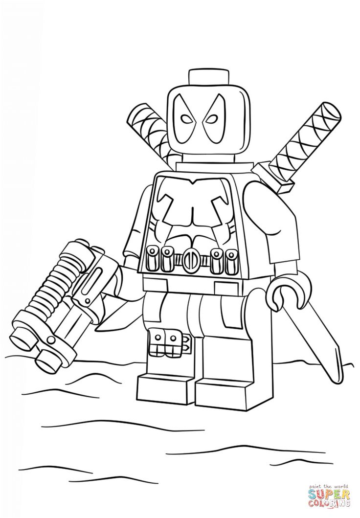 15++ Printable lego superhero coloring pages info