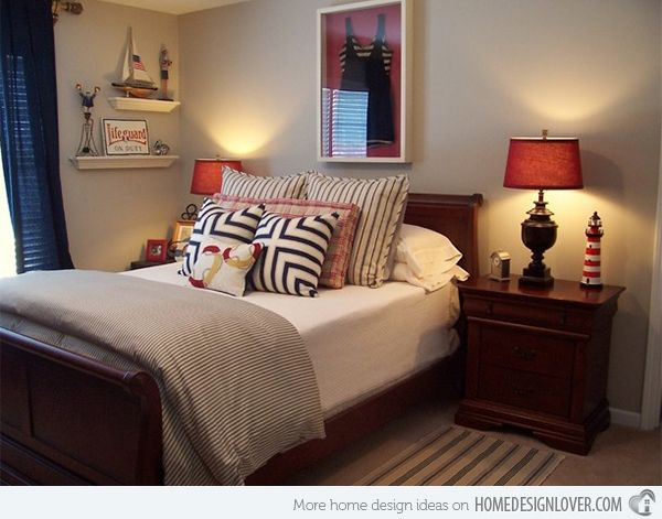 Sail On With 15 Nautical Themed Bedrooms | Home Design Lover