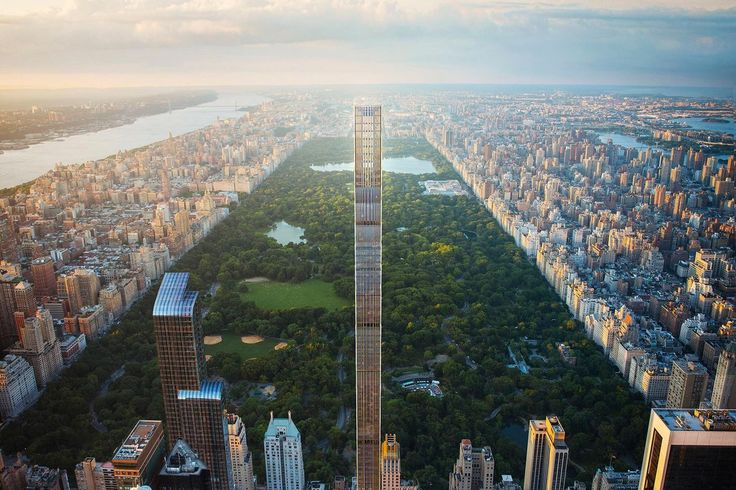 111 West 57th Street officially surpasses the old Steinway Hall - Curbed NY