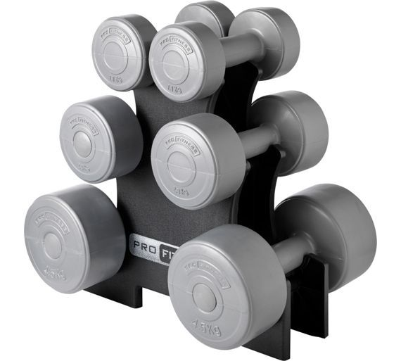 Buy Pro Fitness Dumbbell Tree Set at Argos.co.uk, visit Argos.co.uk to shop online for Weights and dumbbells, Weights, multi-gyms and strength training, Fitness equipment, Sports and leisure