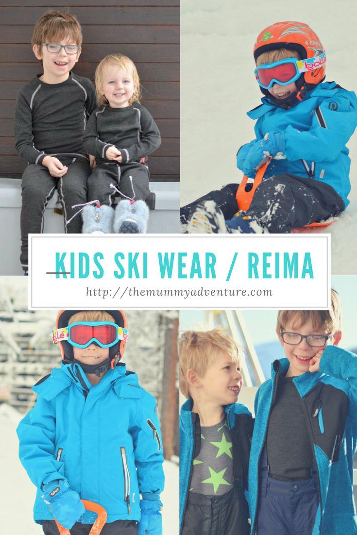 Kids ski wear from Reima #Familyski #skiingwithkids #familytravel #familyskiholiday #Reima