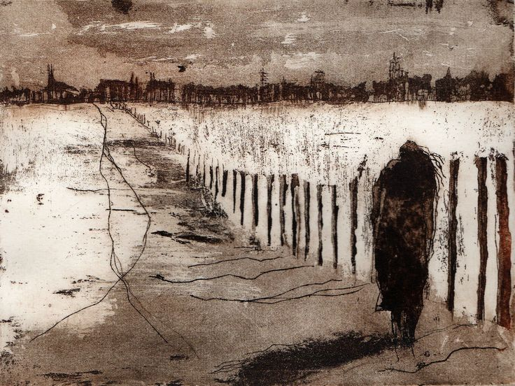 unknown title ~ etching ~ by sylvie thouron