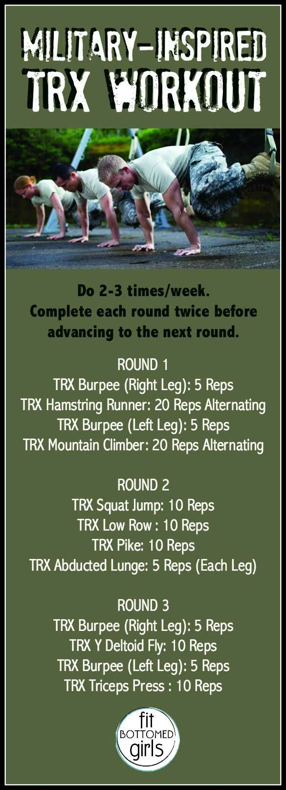A Veterans Day inspired TRX workout that'll get your rear in gear. | Fit Bottomed Girls