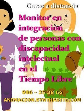 Curso Monitor en integracion de personas con discapacidad intelectual en el tiempo libre