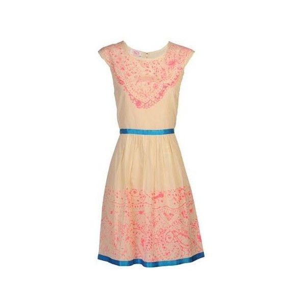 Aka New York Batik Dress ($288) ❤ liked on Polyvore