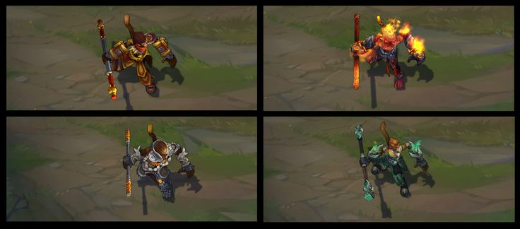 Wukong Texture Update on classic and his skins #PBE #LeagueOfLegnds #LoLNews #LoL